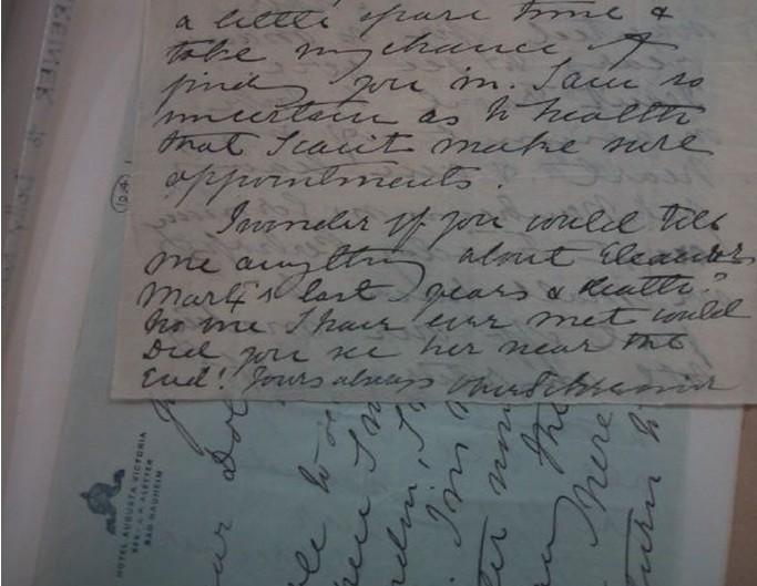 Olive Schreiner Letters Online
